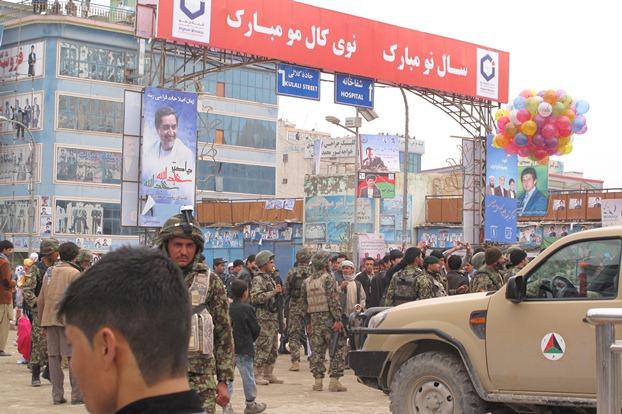 جشن نوروز در مزار شریف افغانستان به روایت تصویر