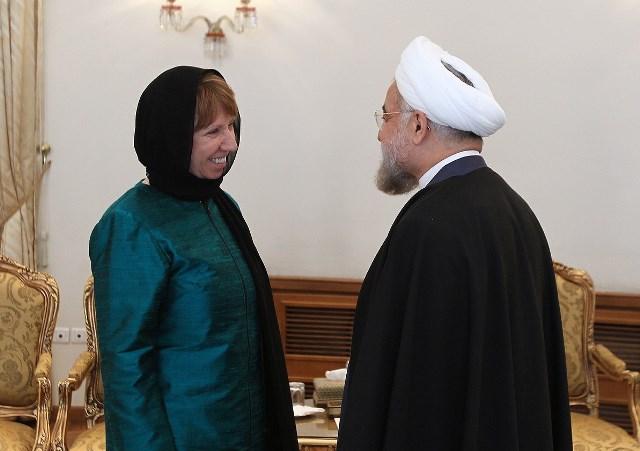 کاترین اشتون در تهران: با حمایت مردم ایران به توافق خواهیم رسید