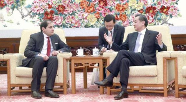 گفتگوی مدیرمسئول الشرق الاوسط با وزیر خارجه چین