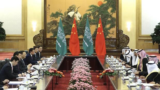 عربستان و چین توافق نامه همکاری سیاسی و اقتصادی امضا کردند