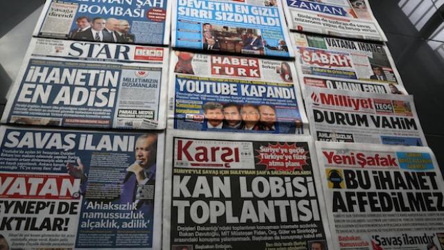 افشای طرح حمله به سوریه، عامل فیلترینگ یوتیوب در ترکیه