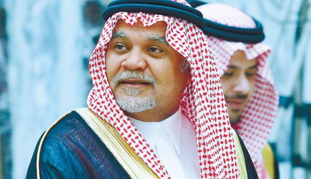 دستور پادشاه عربستان مبنی بر برکناری امیر بندر بن سلطان بنا بر در خواست خودش