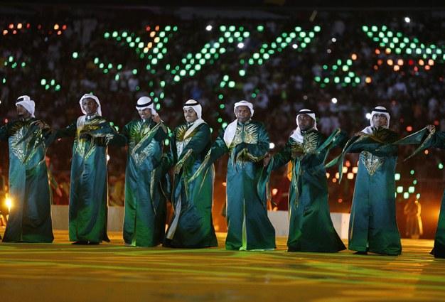 افتتاح مجموعه ورزشی ملک عبدالله در جده توسط پادشاه عربستان