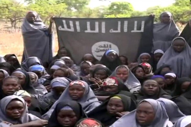 انتشار ویدئویی از دختران ربوده شده در نیجریه
