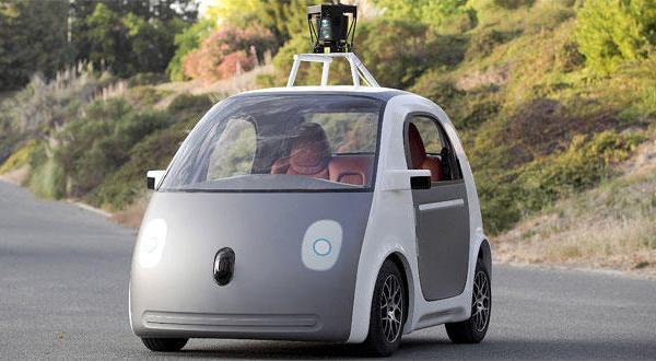 خودروی بدون راننده و فرمان طراحی گوگل