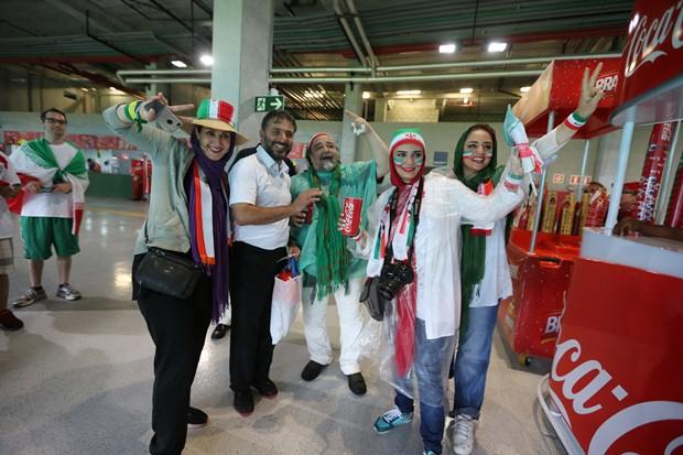 حاشیه بازی ایران و بوسنی در جام جهانی به روایت تصویر