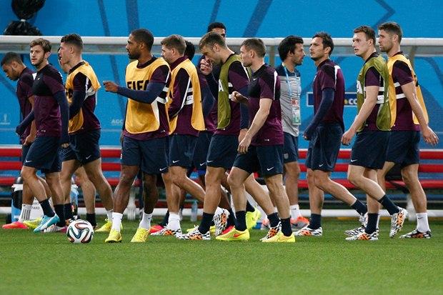 تصاویر تمرین تیم انگلیس در برزیل