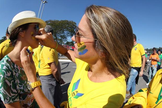 حاشیه های بازی برزیل-کرواسی