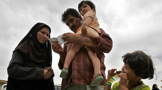 ۹۵۰ هزار پناهنده افغان و عراقی در ایران به سر می برند