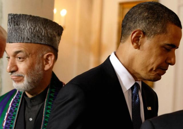 کُشتی نرم آمریکا و کرزی و چشم های نگران میلیون ها شهروند افغانستان
