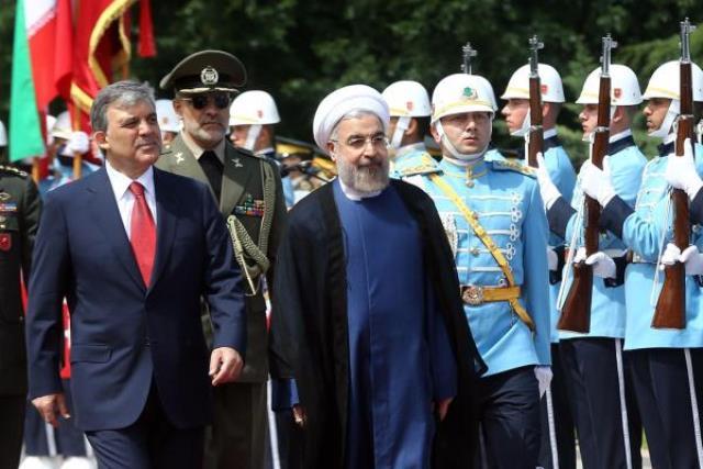 حسن روحانی در ترکیه با عبدالله گل دیدار کرد