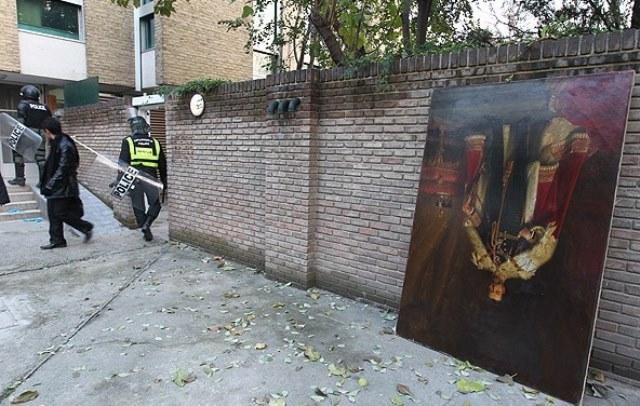 تابلوی فتحعلیشاه از سفارت بریتانیا در تهران مفقود شد
