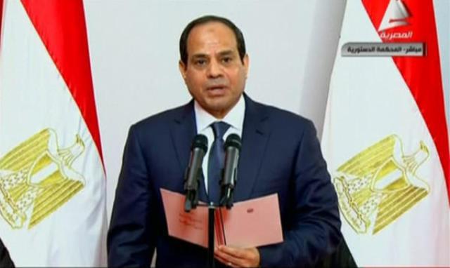 عبدالفتاح السیسی به عنوان رییس جمهور جدید مصر سوگند خورد