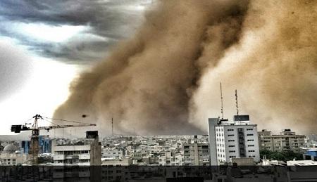 کشف هویت توفان تهران