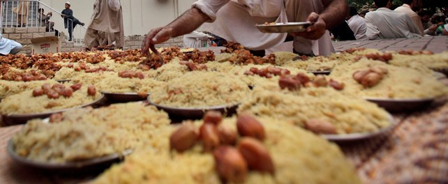 ماه رمضان و رونق در لندن