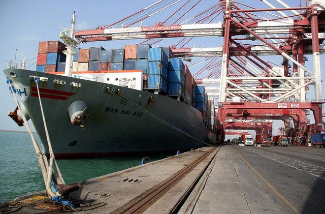 کشتی تایوانی در بندر رجایی ایران پهلو گرفت