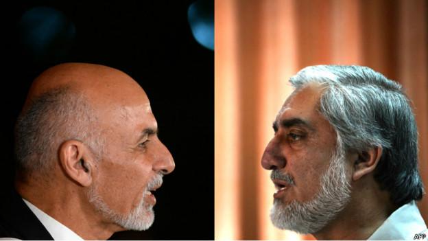 نتایج ابتدایی دور دوم انتخابات ریاست جمهوری افغانستان اعلام شد