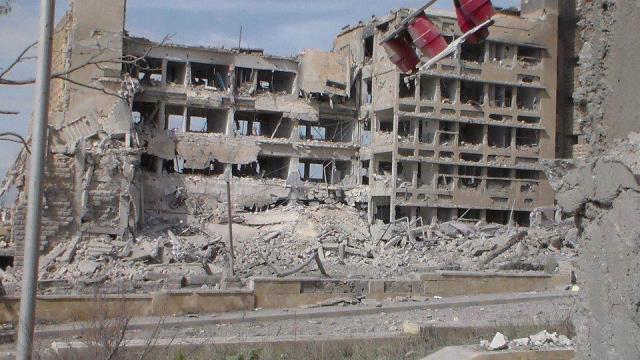 دوئل پزشکان سوری با جنگ
