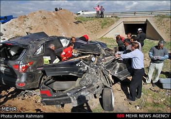 بیشترین تلفات رانندگی در سفرهای تابستانی