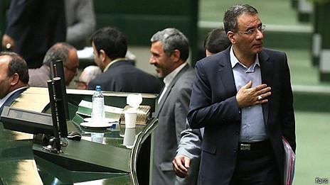 مجلس ایران، اولین وزیر دولت روحانی را برکنار کرد