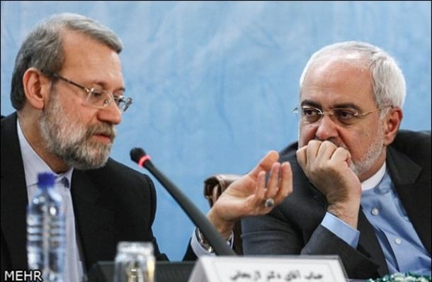 رییس مجلس ایران مذاکرات هسته ای را مسکن خوبی دانست