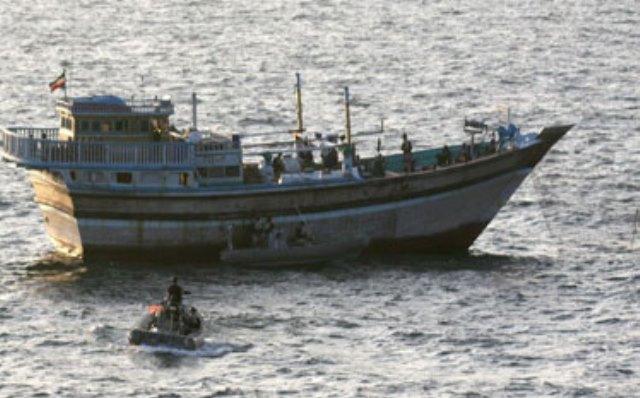 آمریکایی ها به سمت قایق ماهیگیری ایران شلیک کردند