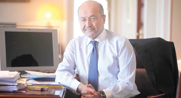 برهم صالح: به کشورهای عربی برای پایان دادن به بحران چشم دوخته ایم