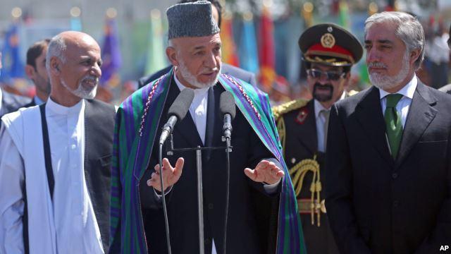 امضای موافقتنامه تشکیل دولت وحدت ملی افغانستان