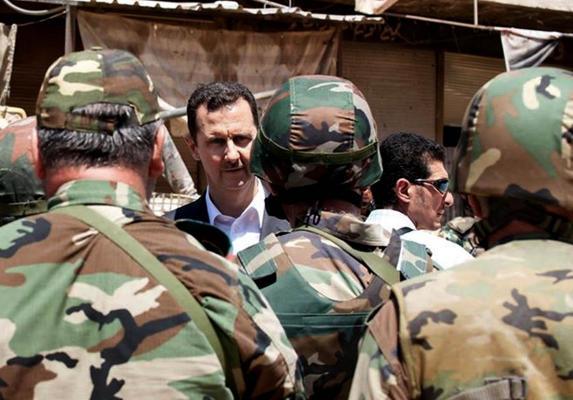 حذف داعش مستلزم برکناری اسد است