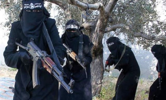 زنان غربی داعش