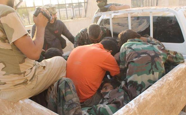 هنگامی که سربازان سوری قربانی می شوند