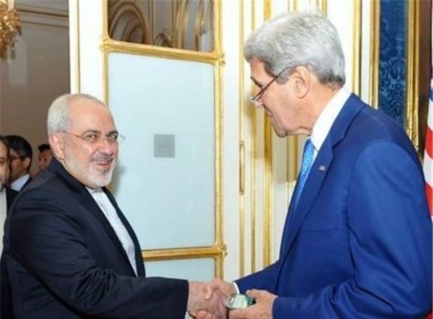 محمد جواد ظریف و جان کری، وزیران خارجه ایران و آمریکا - عکس از انتخاب