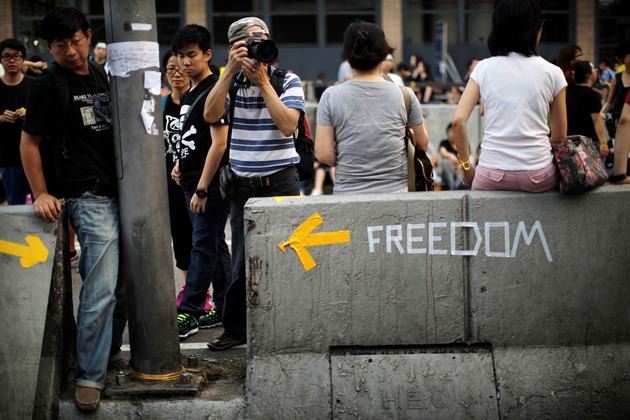 اعتراضات هنگکنگی ها در روز ملی چین هم ادامه دارد
