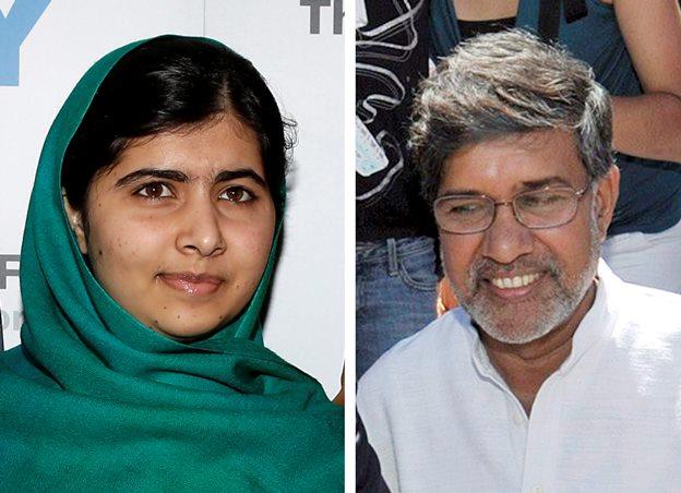 ملاله و یک وکیل هندی برنده جایزه صلح نوبل شدند