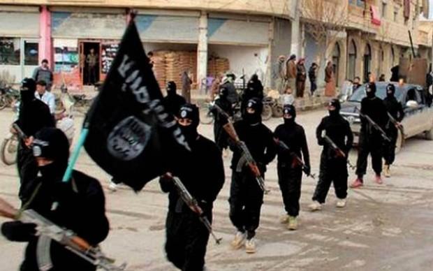 گروهی از جنگجویان داعش - عکس از اسوشیتدپرس