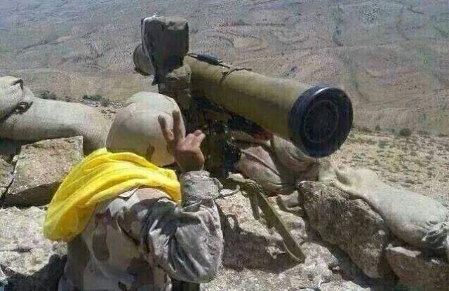 درگیری حزب الله و داعش در شمال شرقی لبنان