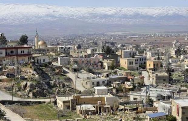 نمایی از شهر بریطال در لبنان