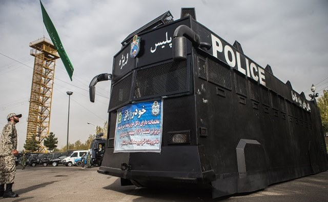 تجهیزات پیشرفته ضد شورش پلیس ایران؛ مهار اغتشاشات یا سرکوب؟