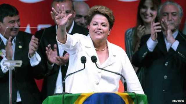 دیلما روسف دوباره رییس جمهور برزیل شد
