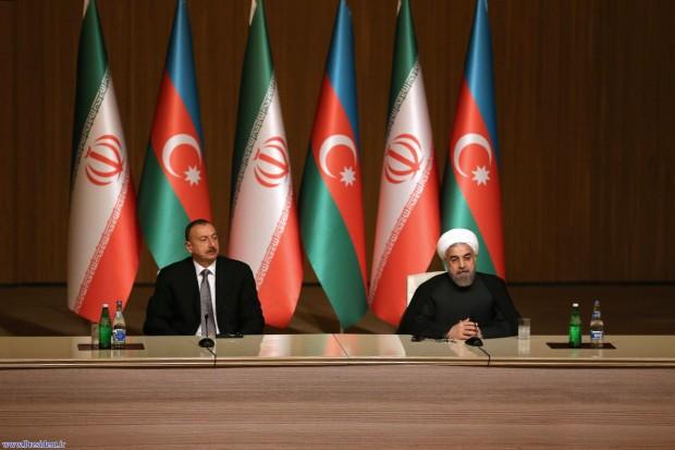 روحانی: آذربایجان مسیر خوبی برای انتقال کالا به روسیه است