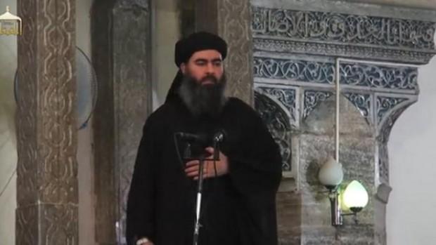 ابوبکر البغدادی سرکرده داعش - عکس از اسوشیتدپرس