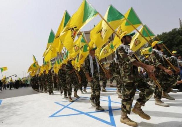 شماری از نیروهای حزب الله - عکس از رویترز
