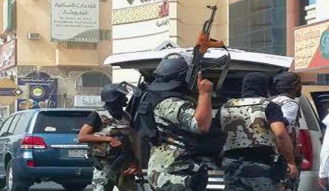 نیروهای امنیتی سعودی ۱۵ نفر را در حملات ضدتروریستی بازداشت کردند