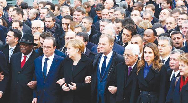 پاریس «پایتخت جهان» بر ضد تروریسم