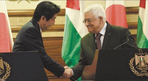 آبه ۱۰۰ میلیون دلار به فلسطین می بخشد و «داعش» ۲۰۰ میلیون از او مطالبه می کند
