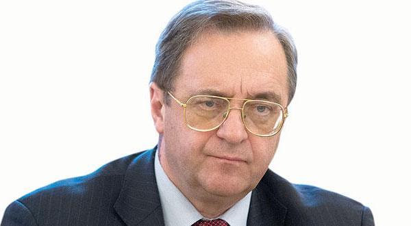 بوگدانف: مسکو تنها جایی است که می توان اسد و معارضان را در آن دور هم جمع کرد