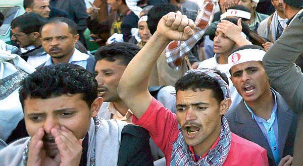 کارکنان یمنی گروگان در دست {کم سوادان} و پیروان صالح
