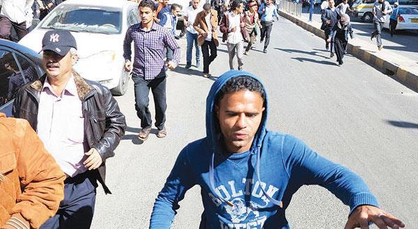 هرج و مرج در صنعا .. حوثی ها با خشونت تظاهرات را محدود می کنند