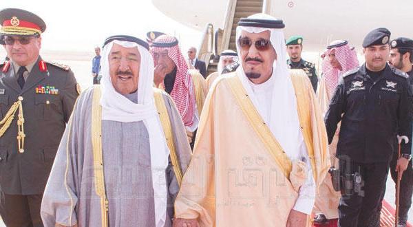 پادشاه عربستان و امیر کویت چشم انداز همکاری و تحولات خلیج و منطقه را بررسی می کنند