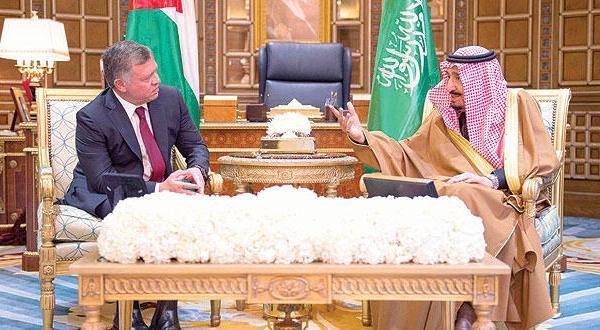نشست عربستان – اردن برای بحث و بررسی اوضاع منطقه و قضایای عربی و اسلامی
